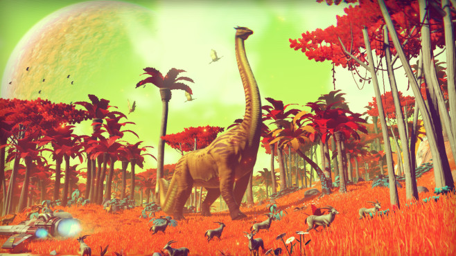 No Man's Sky: Dino © Hello Games
