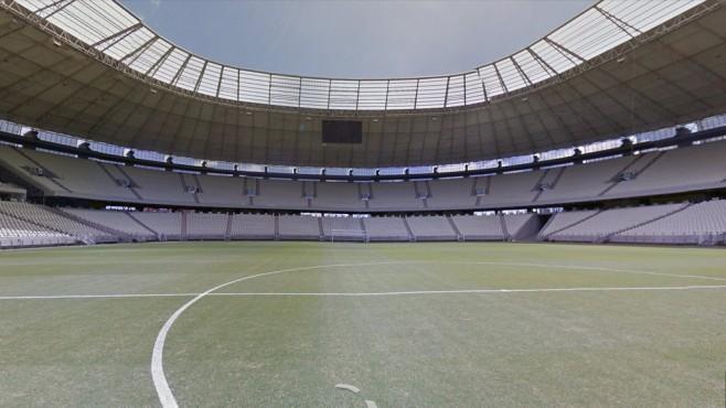 Arena Castelão (Estádio Governador Plácido Castelo), Fortaleza ©Google Street View