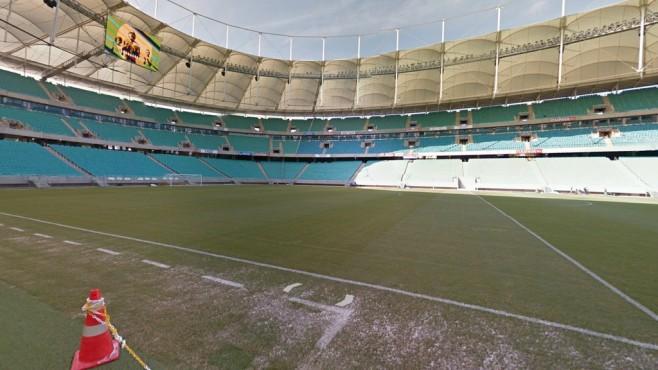 Arena Fonte Nova, Salvador ©Google Street View