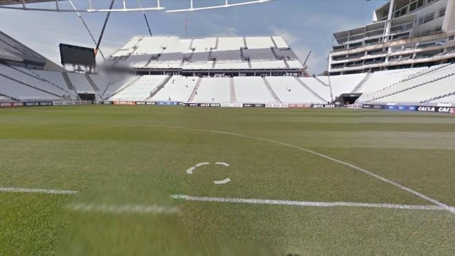 Arena de São Paulo (Arena Corinthians), São Paulo ©Google Street View