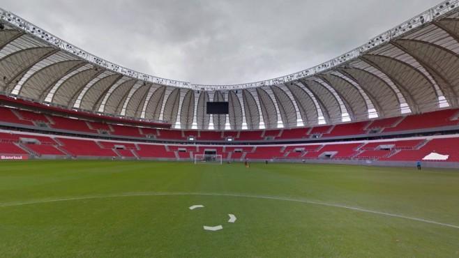 Beira-Rio (Estádio José Pinheiro Borda), Porto Alegre ©Google Street View