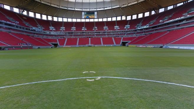 Estádio Nacional de Brasília Mané Garrincha, Brasilia ©Google Street View