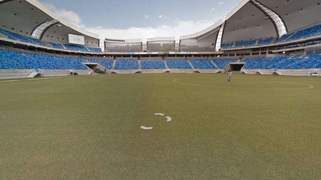 Estádio das Dunas (Estádio João Cláudio de Vasconcelos Machado), Natal ©Google Street View