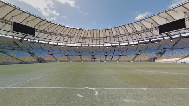 Estádio do Maracanã, Rio de Janeiro ©Google Street View