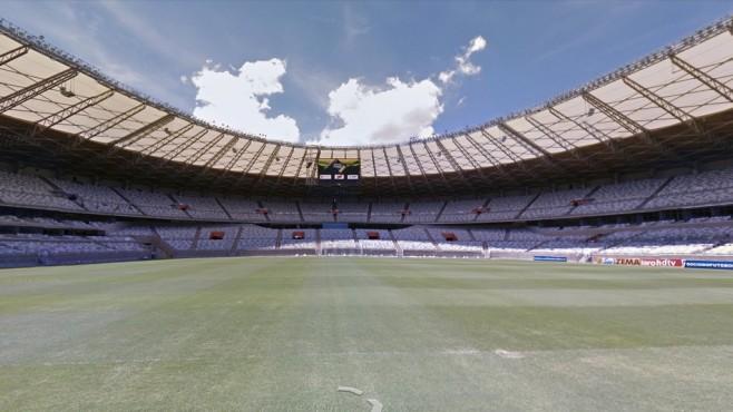 Mineirão (Estádio Governador Magalhães Pinto), Belo Horizonte ©Google Street View