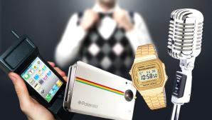Die coolsten Retro-Gadgets ©Casio, Polaroid,  rangizzz - Fotolia.com