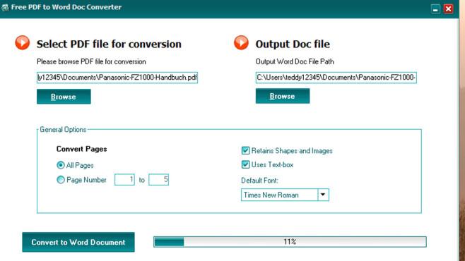 Free PDF to Word Doc Converter: Bearbeitbare Dokumente erschaffen ©COMPUTER BILD