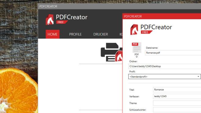 PDFCreator: Spezial-Tool für PDFs ©COMPUTER BILD