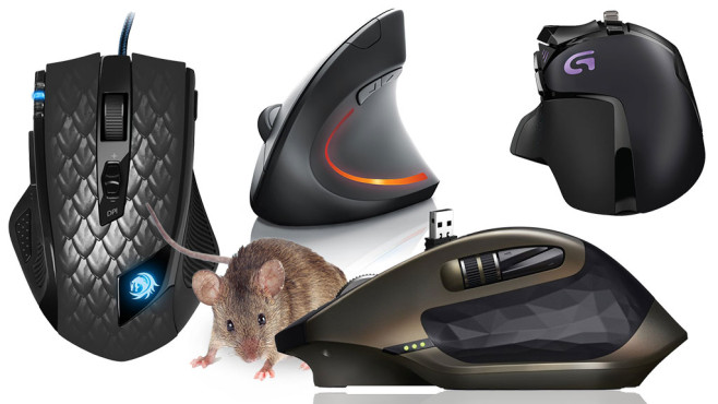 Mäuse ©yevgeniy11 – Fotolia.com, Logitech, CSL, Sharkoon