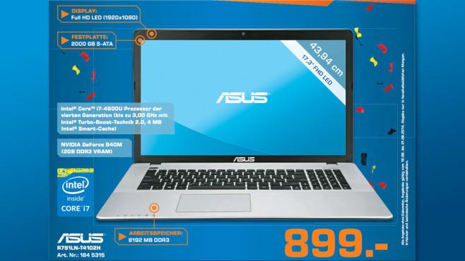 Asus R751LN-T4102H ©Saturn