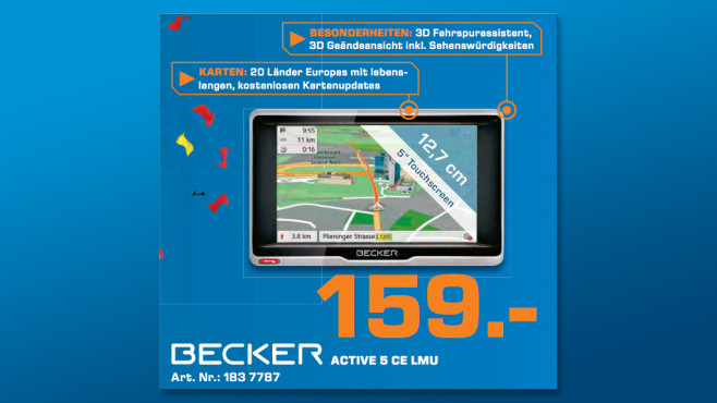 Becker Active.5 CE LMU © Saturn