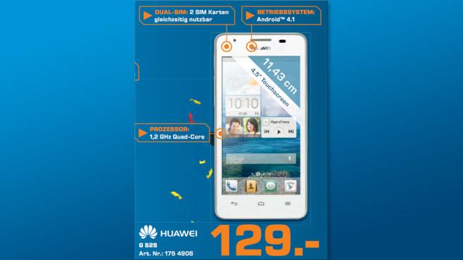 Huawei Ascend G525 ©Saturn