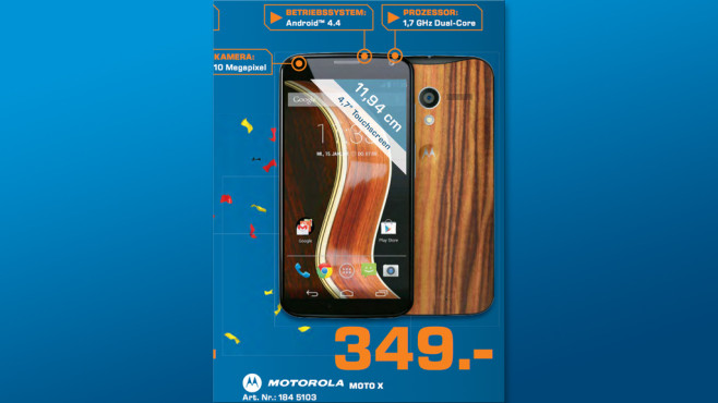 Motorola Moto X ©Saturn