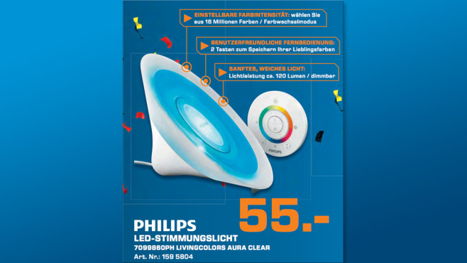 Philips LivingColors Aura 7099860PH © Saturn
