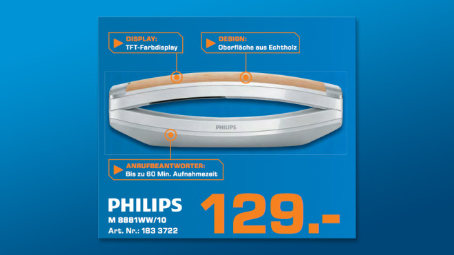Philips M8881 © Saturn