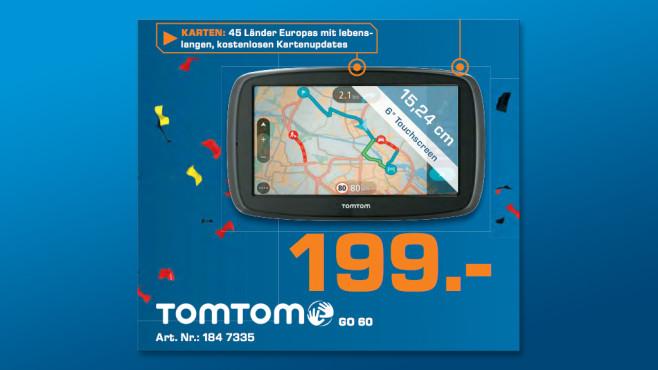 TomTom Go 60 ©Saturn