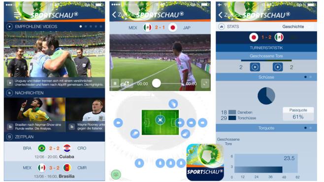 Sportschau Fifa WM ©WDR mediagroup digital GmbH