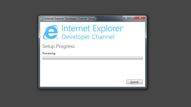 Internet Explorer: Developer Channel © COMPUTER BILD