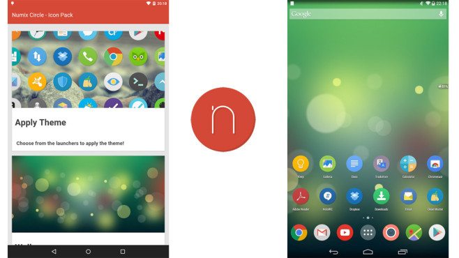 Numix Circle Icon Pack © The Numix Project