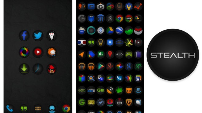 Stealth Icon Pack © Stealthychief