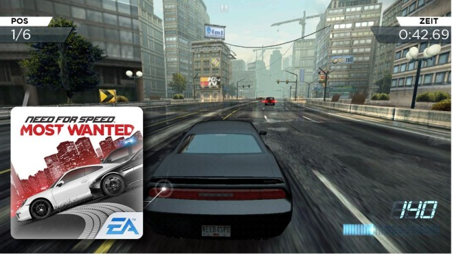 Need for Speed: Most Wanted © Electronic Arts