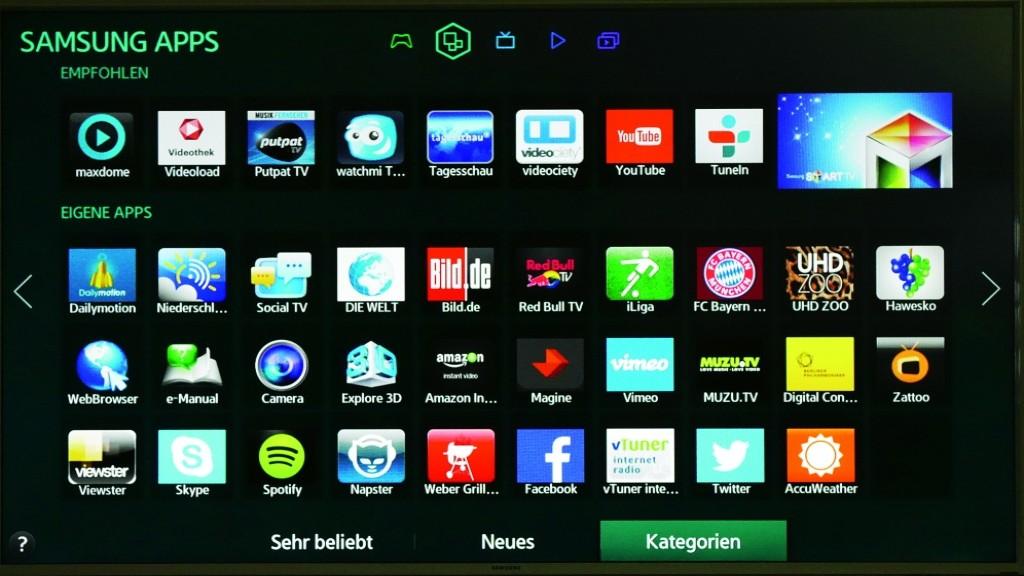 samsung ue48h6270 smart tv im test audio video foto bild. Black Bedroom Furniture Sets. Home Design Ideas