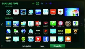 Samsung_H6470_Apps ©COMPUTER BILD