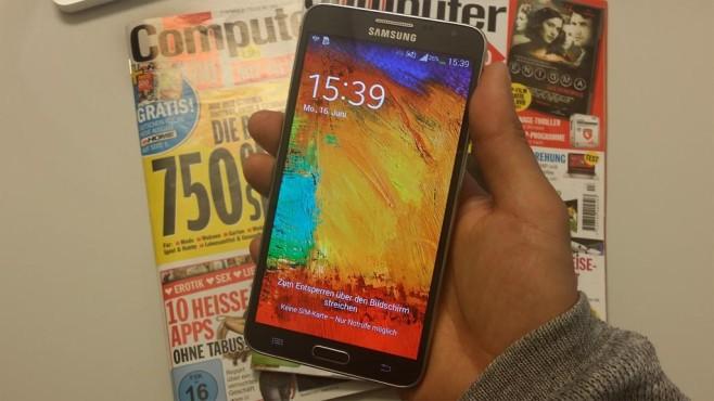 Samsung Galaxy Note 3 Neo: Akku-Wunder ©COMPUTER BILD