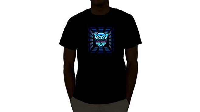 Transformers Equalizer LED-Shirt © Bee2flower