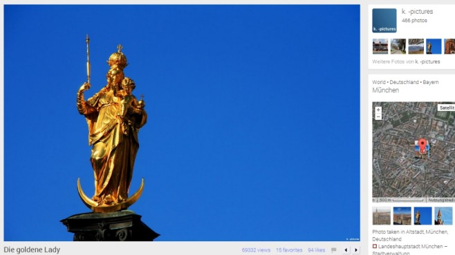 Die goldene Lady © k. -picture, Panoramio