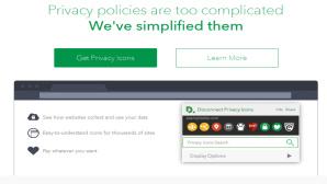 Mit Privacy Icons lässt sich schnell erkennen, welche Rechte sich Website-Betreiber einräumen. ©Disconnect