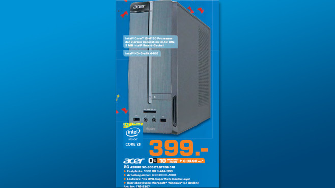 Acer Aspire XC-605 ©Saturn