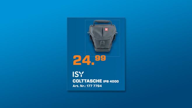 ISY Colt Tasche IPB-4000 ©Saturn