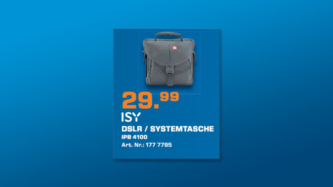 ISY Systemtasche IPB-4100 ©Saturn