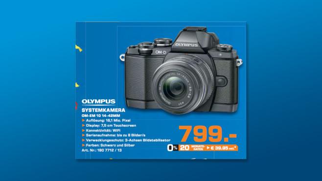 Olympus OM-D E-M10 14 42 EZ ©Saturn