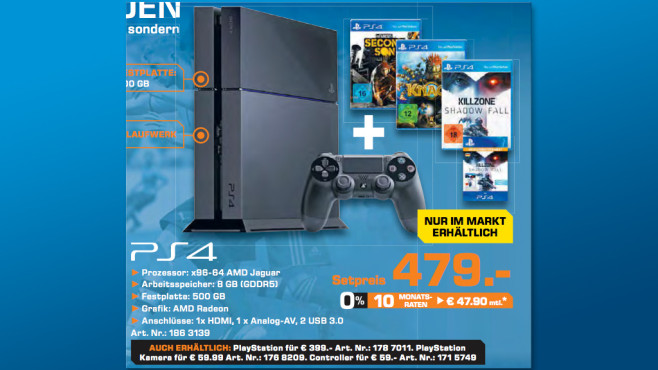 PS4-Bundle © Saturn
