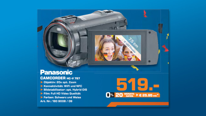 Panasonic HC-V757 © Saturn