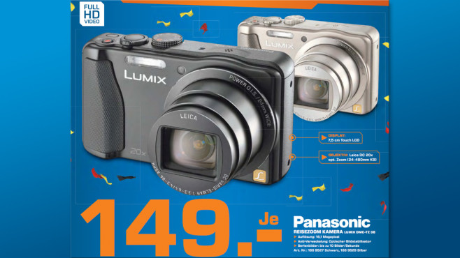 Panasonic Lumix DMC-TZ36 ©Saturn