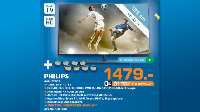 Philips 49PUS7809 ©Saturn