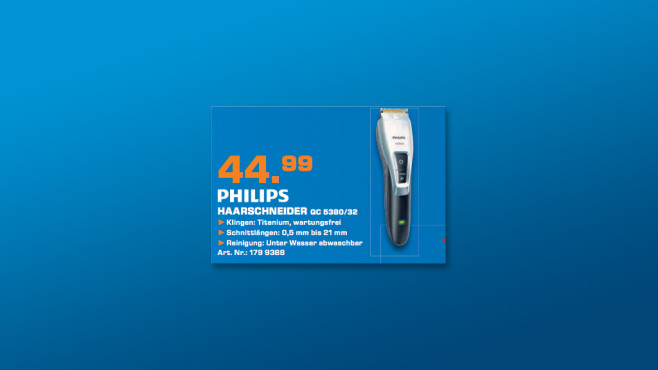Philips QC 5380/32 © Saturn