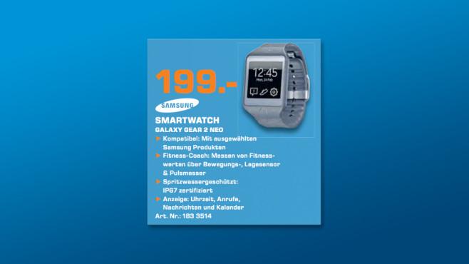 Samsung Gear 2 Neo ©Saturn