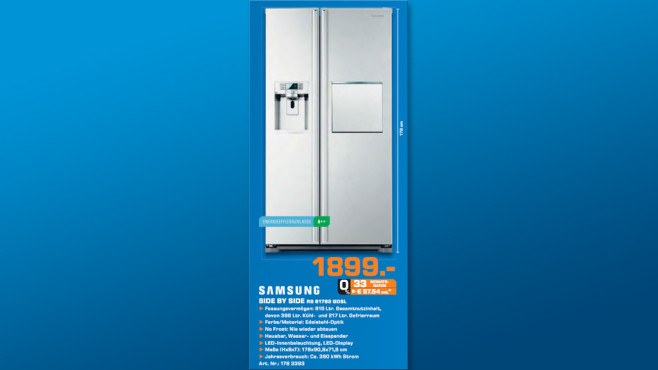 Samsung RS-61782 GDSL ©Saturn
