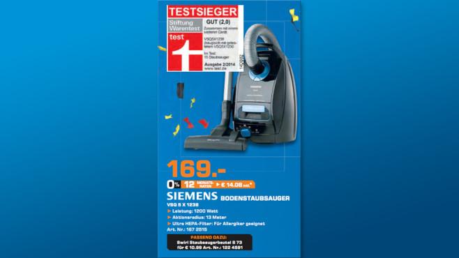 Siemens VSQ5X1238 Q5.0 extreme silencePower ©Saturn