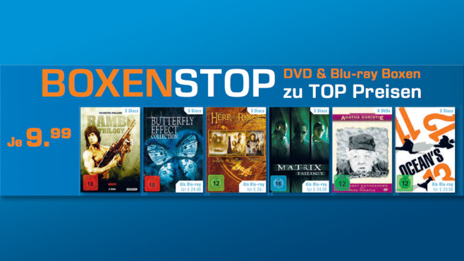 Verschiedene DVDs ©Saturn