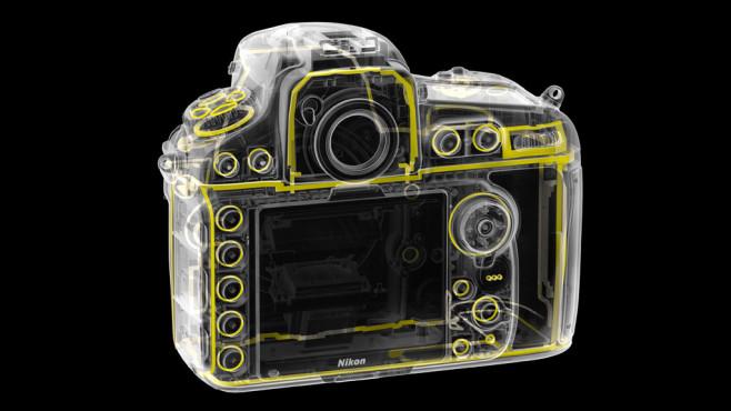 Nikon D810 Dichtung hinten ©Nikon
