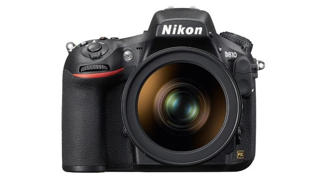 Nikon D810 Frontal ©Nikon