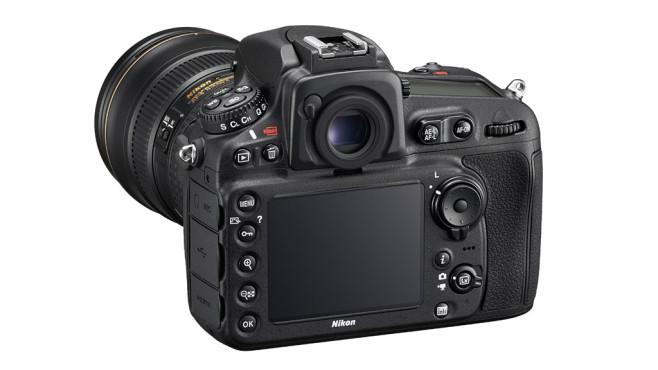 Nikon D810 R�ckansicht ©Nikon