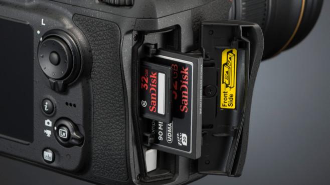 Nikon D810 Speicherkarten ©Nikon