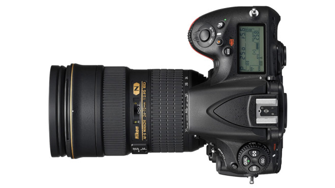 Nikon D810 Top ©Nikon