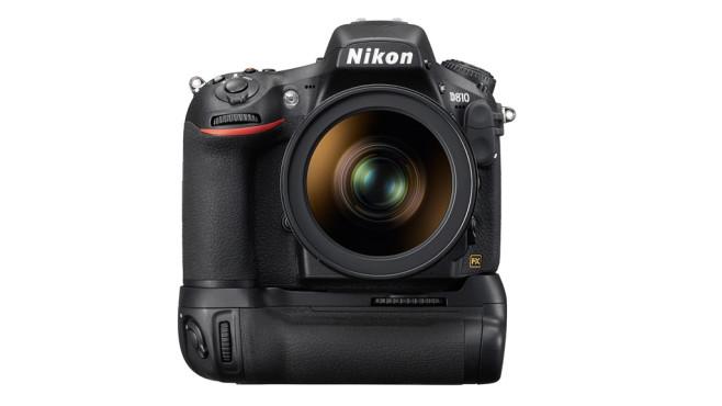 Nikon D810 mit Batteriegriff ©Nikon